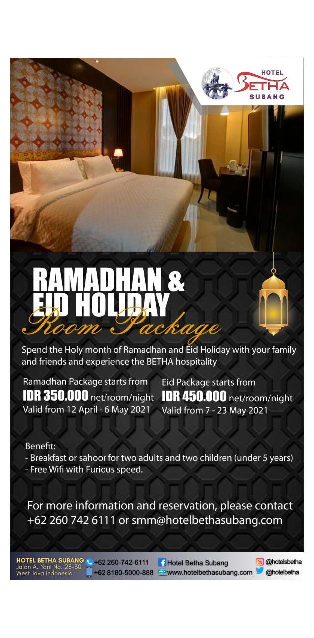 Harga Kamar Hotel Spesial Ramadhan Diskon