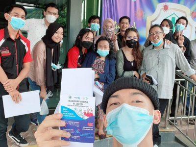 Karyawan Hotel Betha Melakukan Vaksin Covid 19